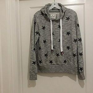 REFLEX pullover sweatshirt Lg.gray/black